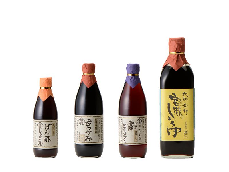 【ふるさと納税】宮滝しょうゆ・味噌セットC