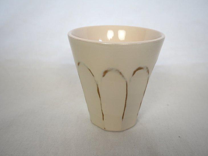 【ふるさと納税】フリーカップ(変根来-白)