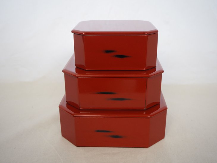 【ふるさと納税】根来塗竹の子重箱