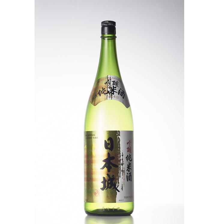 【ふるさと納税】吟醸純米酒「日本城」1.8ml