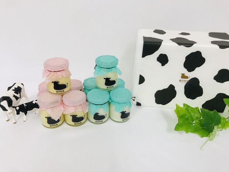 大特価!! ディスカウント ミルク感を大切にした2種のプリンを詰め合わせ ふるさと納税 放牧育ちの牛たちの牛乳をふんだんに使用したプリン10個セット 黒沢牧場