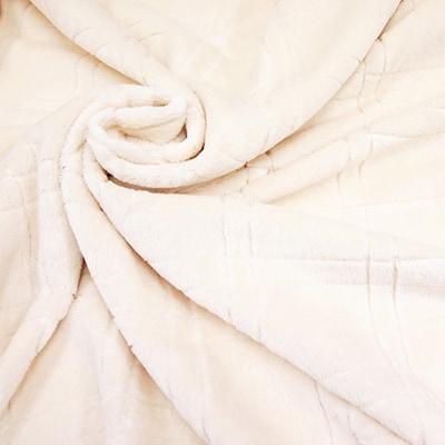 【ふるさと納税】シール織綿毛布(格子) 野上織物株式会社【1019508】