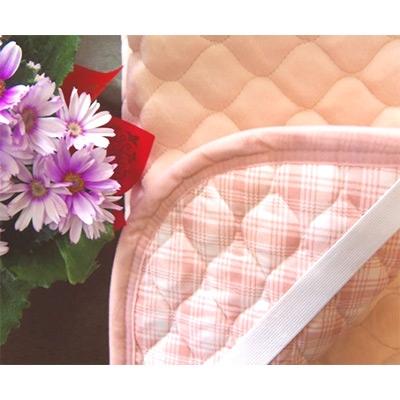 【ふるさと納税】遠赤外線 あったか綿敷パット(布団用)ピンク 三和シール工業株式会社【1066192】