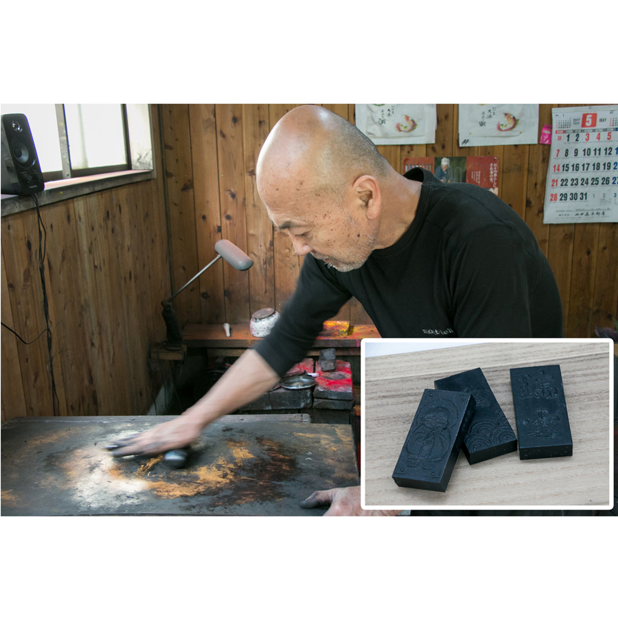 【ふるさと納税】墨作り体験と彩煙墨12本セット(12色)