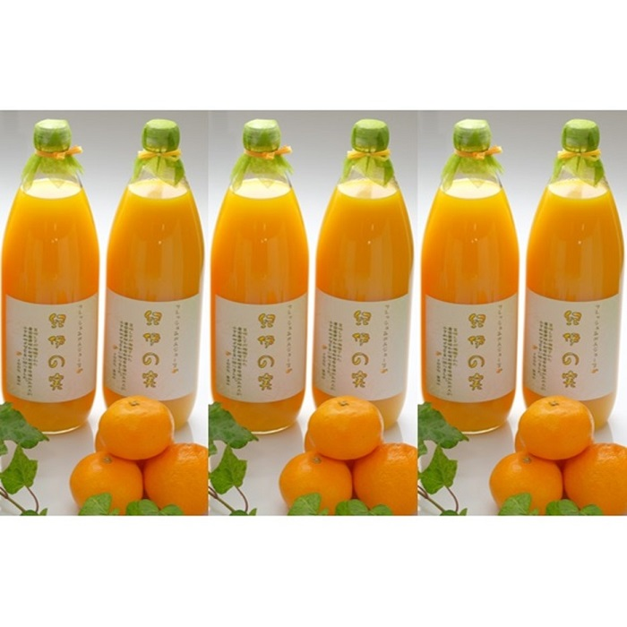 【ふるさと納税】温州みかんジュース6本セット