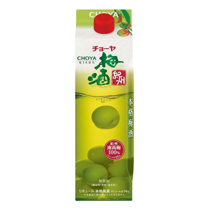 【ふるさと納税】チョーヤ 梅酒 紀州 1000ml紙パック×6本(1ケース)