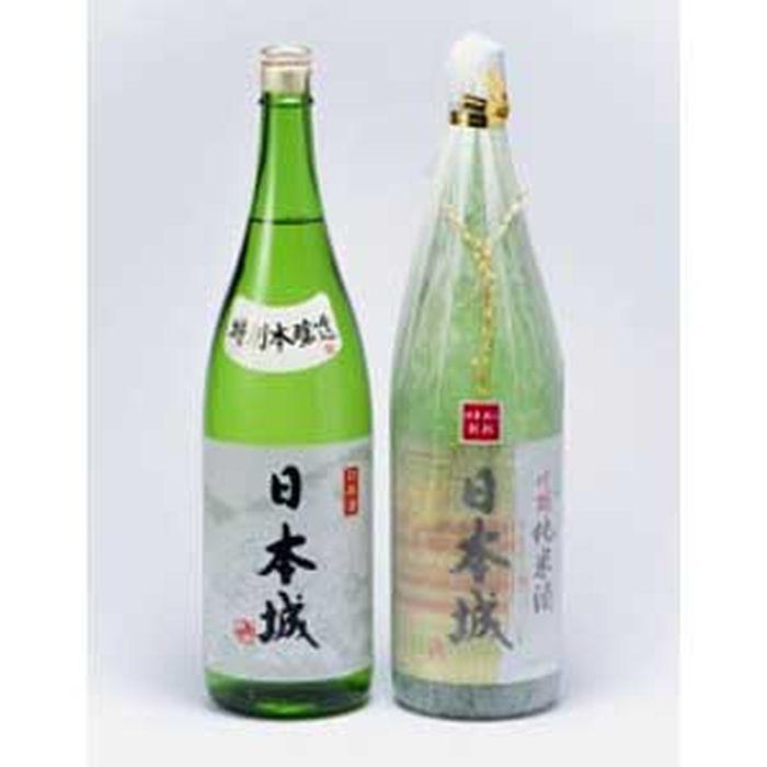 九度山町 ふるさと納税 高品質 株式会社ティーエムテック 日本城 売買 吟醸純米酒と特別本醸造1.8L×2種セット
