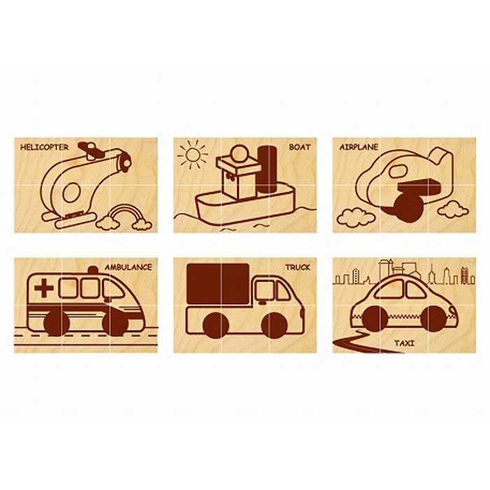 九度山町 ふるさと納税 現品 京北プレカット株式会社 檜のおもちゃ オーバーのアイテム取扱☆ 六面体ブロック IKONIHアイコニー