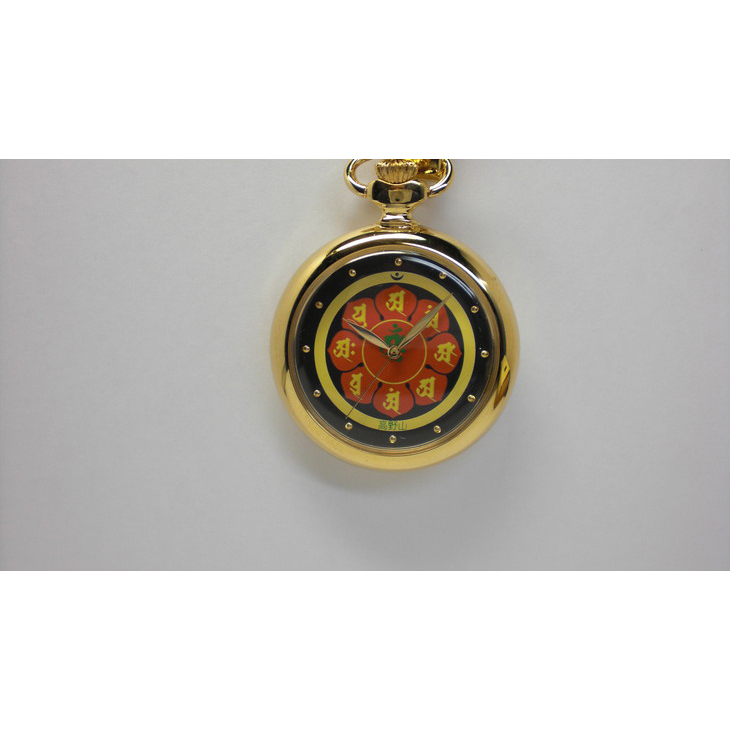 【ふるさと納税】マンダラ提げ時計