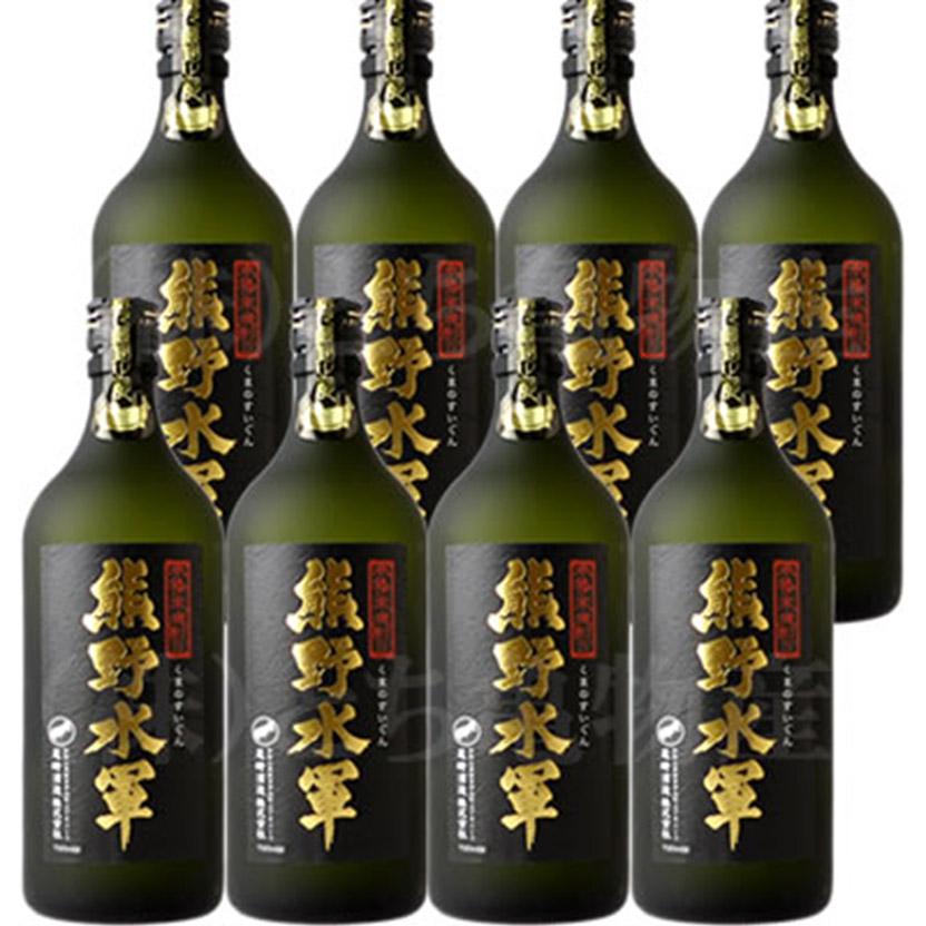 【ふるさと納税】(C002)本格米焼酎 熊野水軍 720ml 尾崎酒造【8本セット】