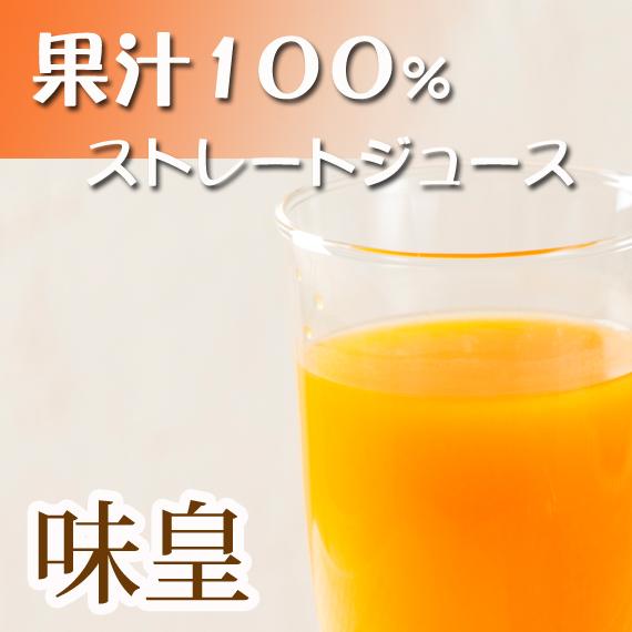 【ふるさと納税】有田みかん果汁100%ジュース 「味皇」 720ml×2本
