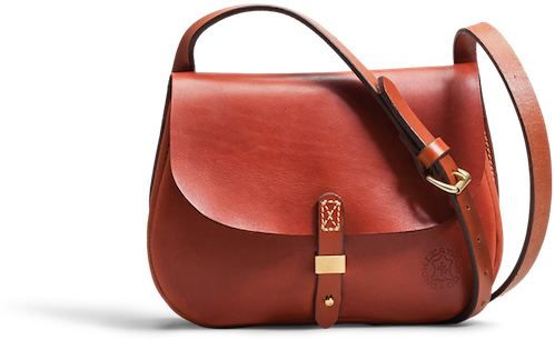 【ふるさと納税】 Orox Leather Co. Merces サドルハンドバッグ  Tan