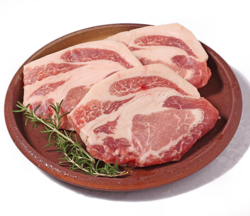 和歌山県優良県産品認定《イブ美豚》のロースステーキのセット 人気のセットです ふるさと納税 和歌山ブランド イノブタ ステーキ3枚セット 16-P ステーキソース付き 国内即発送 大幅にプライスダウン イブ美豚