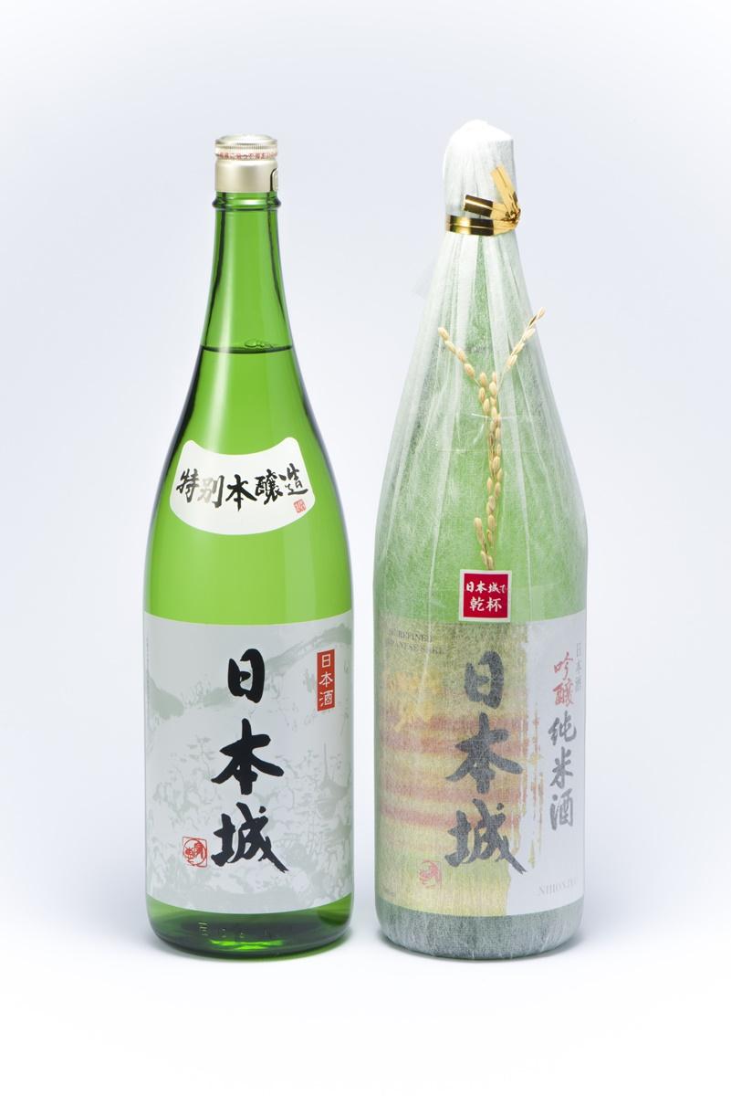 【ふるさと納税】「日本城」吟醸純米酒と特別本醸造1.8L×2種セット