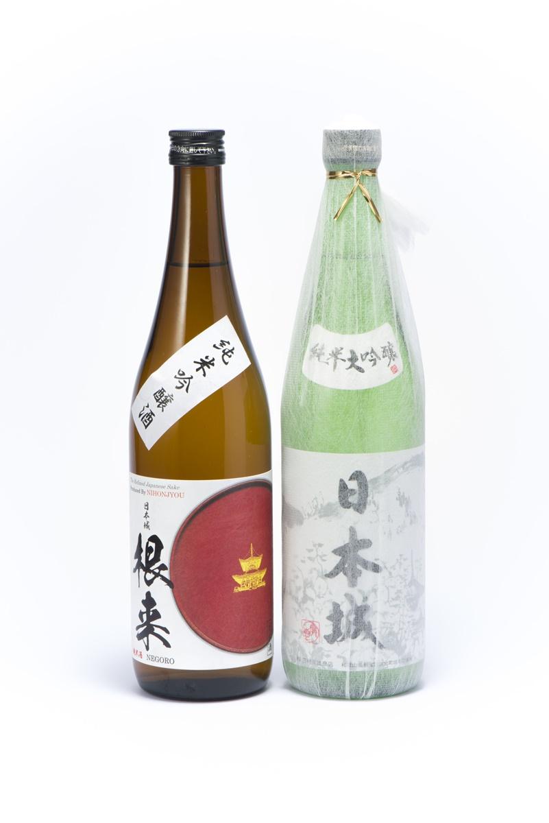 【ふるさと納税】「日本城」純米大吟醸酒と純米吟醸酒「根来」720ml飲み比べセット