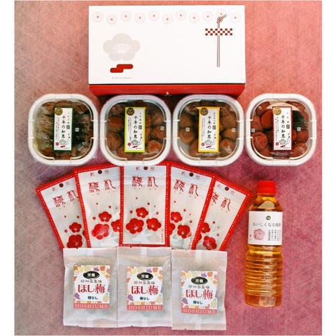 【ふるさと納税】紀州南高梅 千年の知恵味わい4種、他梅製品