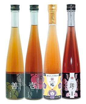 【ふるさと納税】梅酒飲みくらべ4本セット