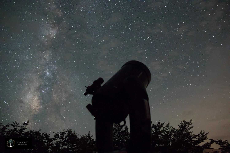 【ふるさと納税】星空観察ペアチケット