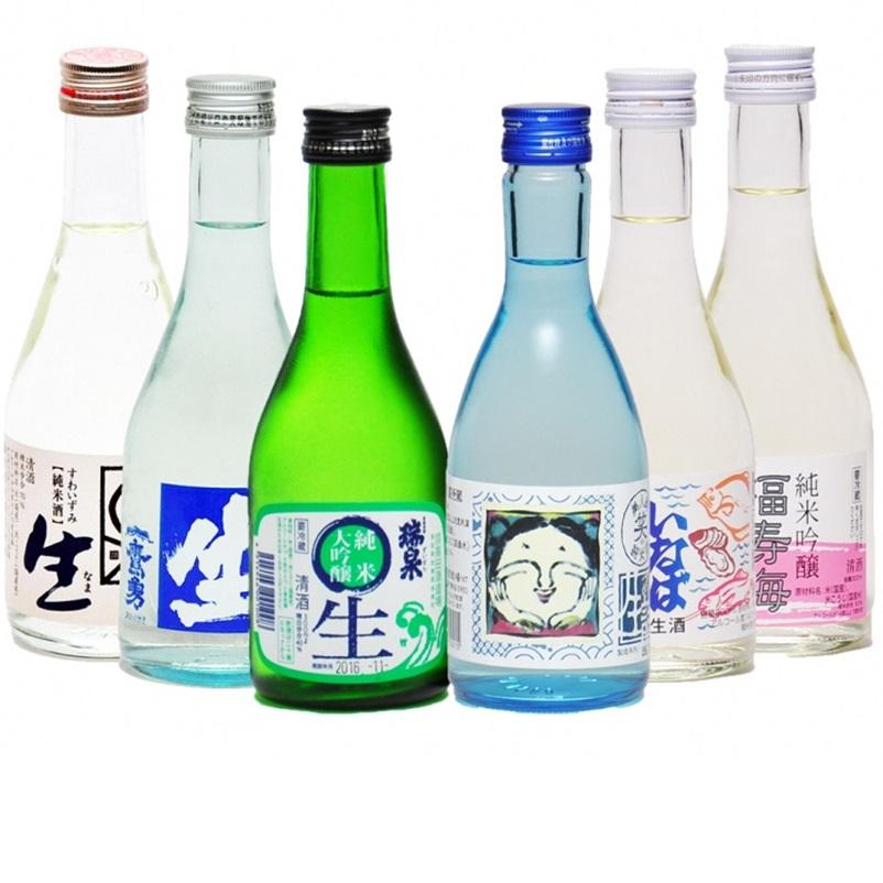 【ふるさと納税】鳥取県の生酒 6種類 飲み比べセット 300ml×6本