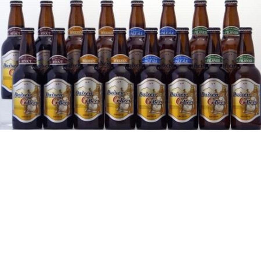 【ふるさと納税】大山Gビール飲み比べ16本セット