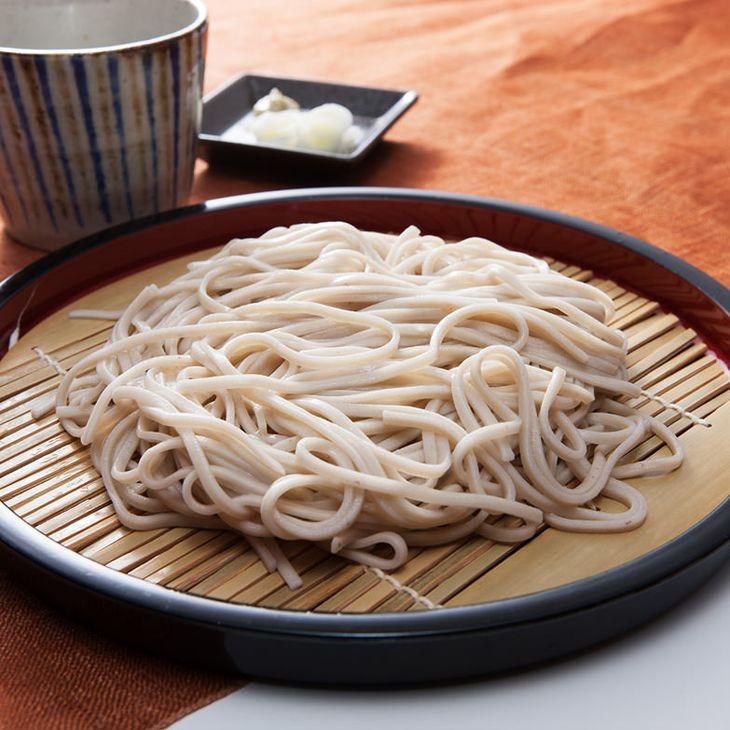【ふるさと納税】自然薯そば(40食分・特製つゆ付き)