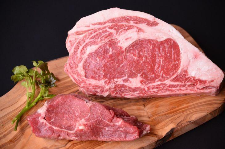 【ふるさと納税】【熟成肉】鳥取和牛「mere Rouge(メア・ルージュ~母なる赤~)」ロースとヒレのステーキセット