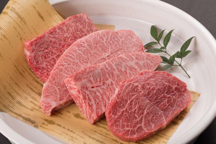【ふるさと納税】鳥取和牛 希少部位のステーキセット
