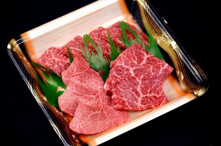 【ふるさと納税】鳥取和牛 焼肉用 特上赤身肉(小)