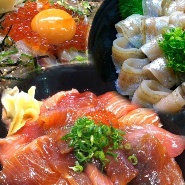 【ふるさと納税】日本海の漬け丼と昆布じめ丼おまかせセット(通年)