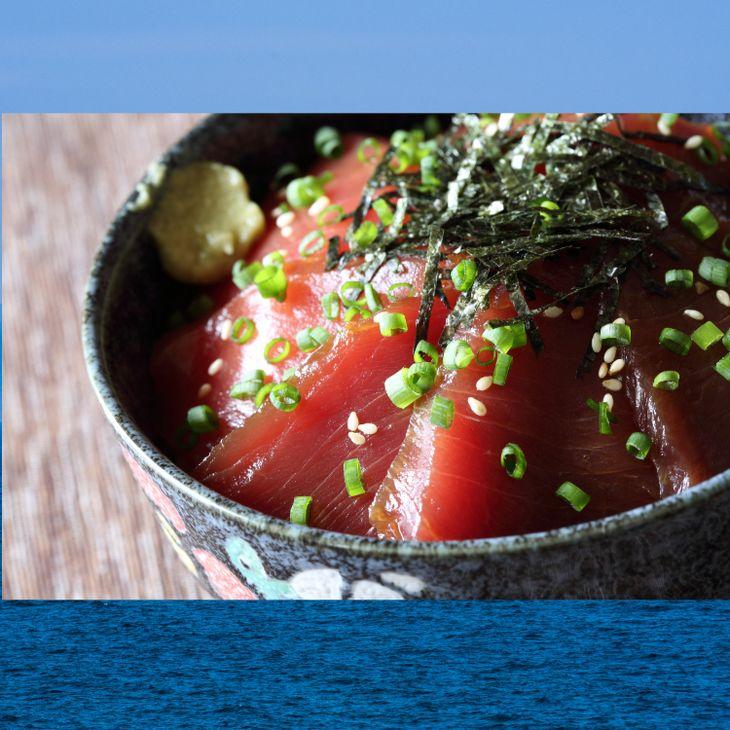 【ふるさと納税】日本海産本マグロ漬け丼※2020年6月~7月頃に順次発送予定