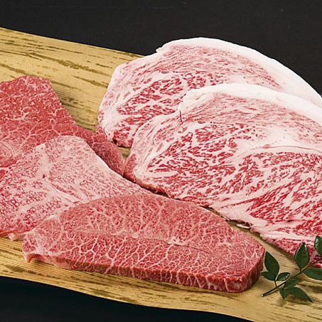 【ふるさと納税】鳥取和牛 特上ロースステーキと希少部位のミニステーキセット