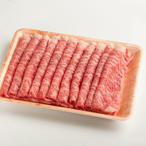 【ふるさと納税】鳥取和牛 特上すき焼き用ロース 約600g