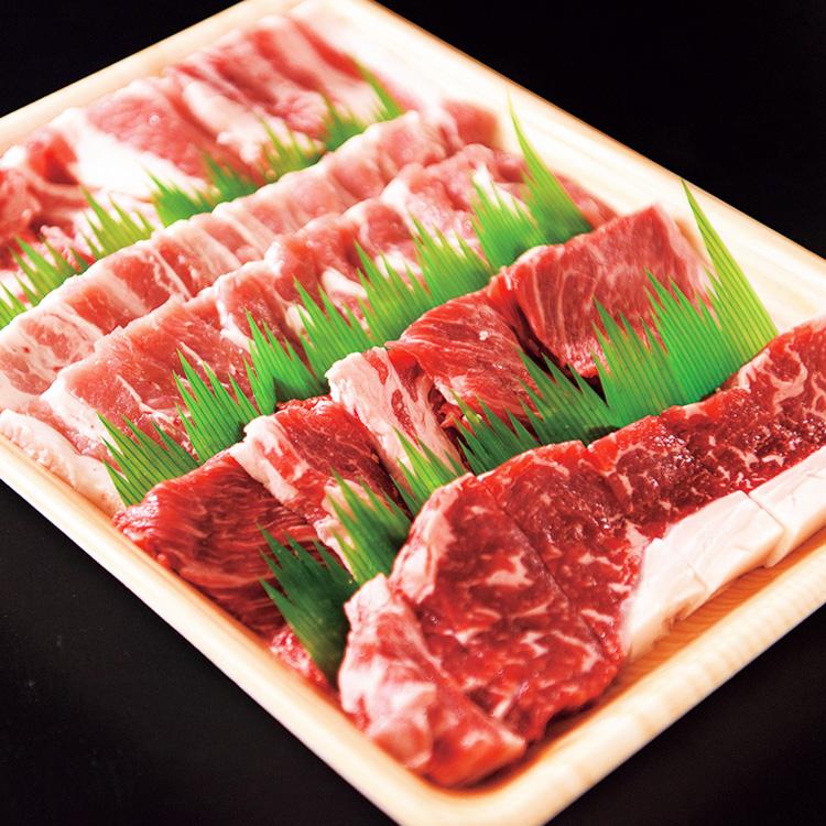 【ふるさと納税】TO02:鳥取県産牛・豚肉焼肉セット(700g)(冷凍発送)