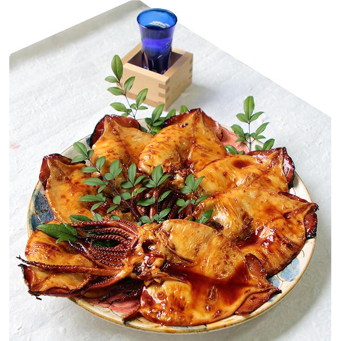 風味豊かに焼き上げました 魚介類 魚貝類 父の日 開店記念セール ふるさと納税 581.浜田港水揚げいかの照り焼き 大特価
