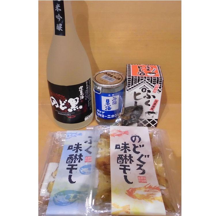 浜田の道の駅からお届け 浜田の美味しい日本酒と珍味セット 父の日 肴 35%OFF 1330.浜田の美味しい日本酒 のどぐろ味醂干セット ふるさと納税 ふぐひれ酒とふぐ味醂干 再再販