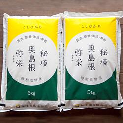 在庫一掃 ガッツリと食べたいと言う方にお勧めです ふるさと納税 定期便 520.弥栄町産特別栽培米 日本メーカー新品 12回コース 秘境奥島根弥栄 こしひかり10kg