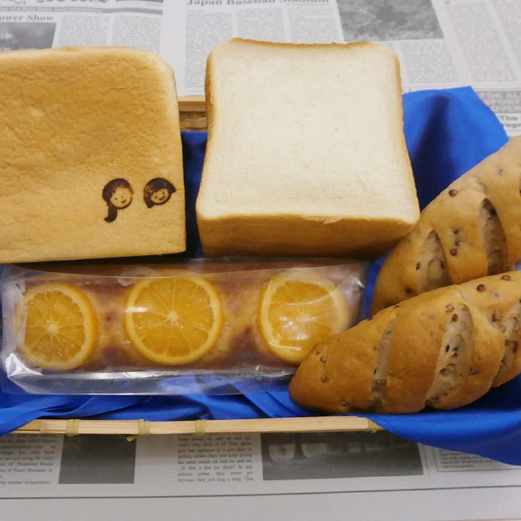 ふるさと納税 1180.高級食パン 激安格安割引情報満載 金の城 たかきび と米粉パン オレンジパウンドケーキセット スーパーセール期間限定