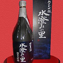 【ふるさと納税】245.山陰浜田で大人気! 環日本海 純米大吟醸「水澄みの里」