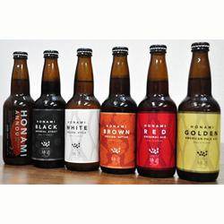 それぞれ違った色や風味を ぜひお楽しみください 国内正規品 ご当地ビール 贈答 父の日 851.浜田のクラフトビール6種飲み比べセット 定期便 ふるさと納税 12回コース