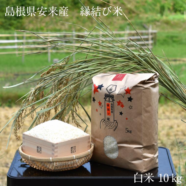 【ふるさと納税】ご縁の国 島根の縁結び米 白米 10kg