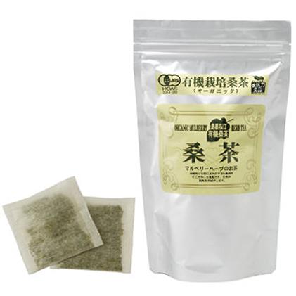 【ふるさと納税】有機桑茶セット(36包×3袋) 【飲料類・お茶】