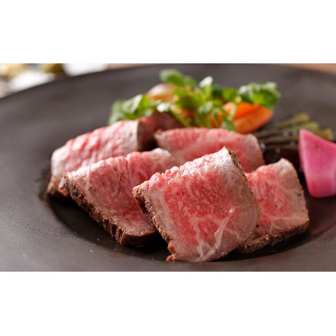 【ふるさと納税】奥出雲和牛のプレミアムローストビーフとハンバーグ4個 計770g 【加工品・惣菜・冷凍・お肉・ハンバーグ・牛肉】