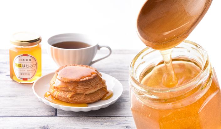 【ふるさと納税】【希少品】2年物!100%天然 日本蜜蜂のはちみつ160g(瓶入)3個