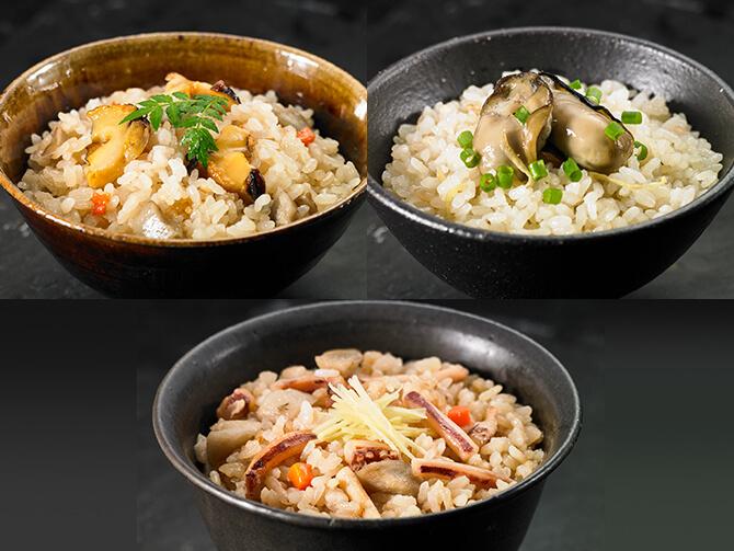 【ふるさと納税】海鮮炊き込みご飯セット