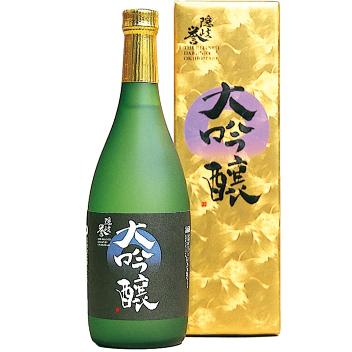 【ふるさと納税】隠岐誉 酒 大吟醸 日本酒 720ml 隠岐酒造