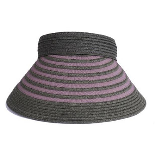 【ふるさと納税】天然 クリップバイザー 婦人 帽子 カーキ 【ファッション・ファッション小物】