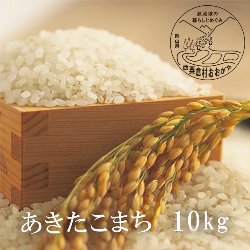 令和2年産 原生林の清水が生む希少なお米 ふるさと納税 信頼 あきたこまち 白米10kg 公式ショップ G12おおがや米