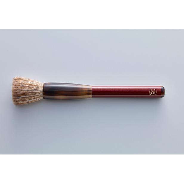 【ふるさと納税】素肌のような透明感を叶える最高峰の化粧筆・ルージュ Rouge(名入れあり) 【雑貨・日用品・化粧筆・パウダー専用化粧筆】