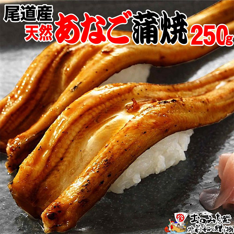 【ふるさと納税】尾道産天然あなごの蒲焼約250g前後炭火焼