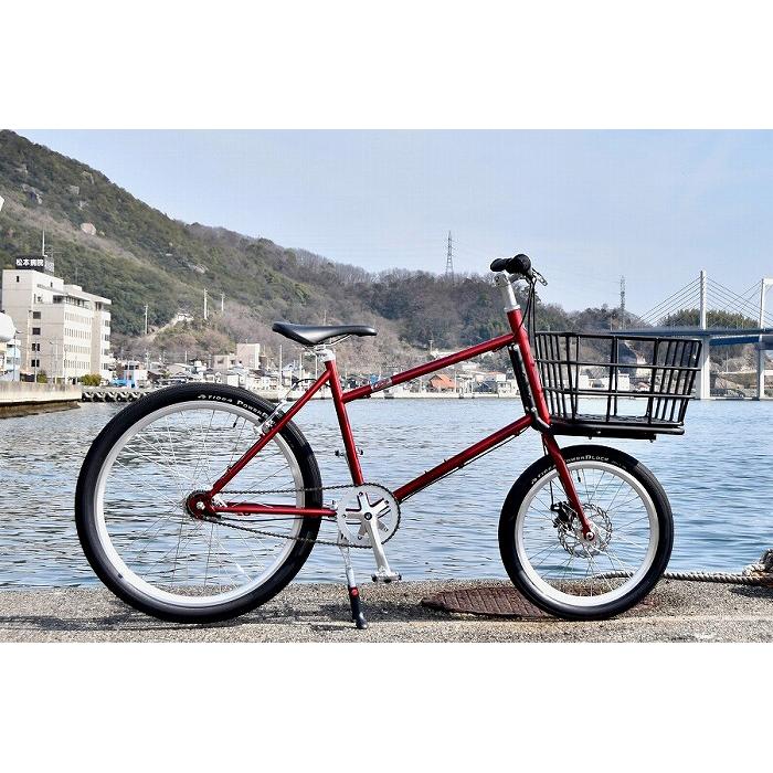 広島県尾道市 【ふるさと納税】【20台限定】カープ承認カーゴバイク